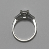 .87 ct. Princess Cut Solitaire Ring #4