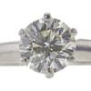 1.04 ct. Round Cut Bridal Set Ring, M, VS2 #3