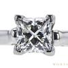 1.01 ct. Princess Cut Bridal Set Ring, I, VVS2 #1