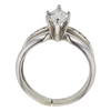 0.88 ct. Marquise Cut Bridal Set Ring, F-G, SI1-SI2 #3