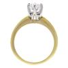 0.79 ct. Round Cut Bridal Set Ring, E, VS2 #4