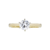 0.74 ct. Round Cut Solitaire Ring, H, VS2 #3
