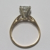 .91 ct. Heart Cut Solitaire Ring #3