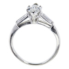1.00 ct. Marquise Cut 3 Stone Ring #2