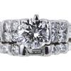 1.00 ct. Round Cut Bridal Set Ring #4