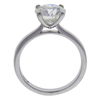 2.0 ct. Round Cut Solitaire Ring, J, SI2 #3
