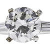 2.97 ct. Round Cut 3 Stone Ring, I, VS1 #4
