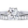 1.40 ct. Round Cut Bridal Set Ring, I, SI1 #1