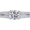 1.13 ct. Round Cut Solitaire Ring, I, I1 #3