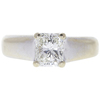 1.0 ct. Radiant Cut Solitaire Ring, I, VS2 #3
