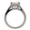 2.01 ct. Princess Cut Solitaire Ring #4