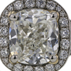 2.41 ct. Cushion Cut Halo Ring #2