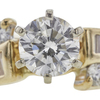 0.72 ct. Round Cut Bridal Set Ring, G, I1 #4