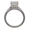 1.51 ct. Princess Cut Bridal Set Ring, H, VS2 #4