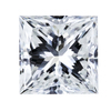1.06 ct. Princess Cut Bridal Set Ring, G, VS1 #1