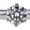 0.53 ct. Round Cut Bridal Set Tiffany & Co. Ring, F, VS1 #4