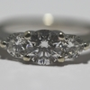 .78 ct. Round Cut 3 Stone Ring #1