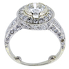 0.95 ct. Round Cut Halo Ring, I-J, SI1-SI2 #3