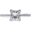 1.49 ct. Princess Cut Solitaire Ring, F, SI1 #3