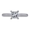 1.02 ct. Princess Cut Solitaire Ring, I, VVS2 #2