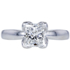 1.33 ct. Princess Cut Solitaire Ring, F, VS1 #1