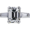 2.02 ct. Emerald Cut Solitaire Ring #4