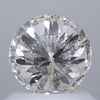 1.04 ct. Round Cut Loose Diamond, J, I1 #2