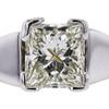 0.75 ct. Princess Cut Bridal Set Ring, F-G, VS2 #1