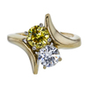 0.65 ct. Round Cut Ring, H-I, SI2-I1 #2