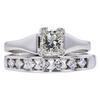 0.75 ct. Princess Cut Bridal Set Ring, F-G, VS2 #2