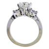 1.51 ct. Round Cut Bridal Set Ring, H, SI2 #1