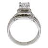 1.01 ct. Princess Cut Bridal Set Ring, E, SI2 #4