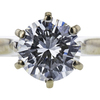 1.01 ct. Round Cut Solitaire Ring, I, VS2 #1