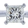1.51 ct. Princess Cut Solitaire Ring, L, VS2 #4