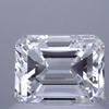 1.19 ct. Emerald Cut Bridal Set Ring, F, VS1 #1