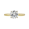 0.81 ct. Round Cut Solitaire Ring, G, SI1 #3