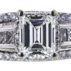 1.31 ct. Emerald Cut Bridal Set Ring, I, VS1 #2
