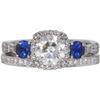 1.01 ct. Round Cut Bridal Set Tacori Ring, H, VS2 #3