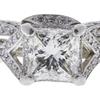 1.53 ct. Princess Cut Bridal Set Ring, I, SI1 #3