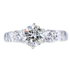 1.00 ct. Round Cut Solitaire Ring, I, SI2 #3