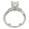1.15 ct. Princess Cut Bridal Set Ring, D, VS1 #4