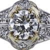 0.88 ct. Round Cut Solitaire Ring, J, VS1 #4