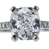 2.50 ct. Cushion Cut Solitaire Ring, G, VS1 #4