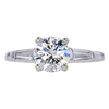 1.05 ct. Round Cut 3 Stone Ring #3