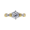 1.20 ct. Round Cut Solitaire Ring, H, SI1 #3
