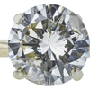 3.06 ct. Round Cut Solitaire Ring, M-Z, I2 #4