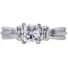 0.97 ct. Princess Cut Solitaire Ring, F-G, SI2-I1 #2