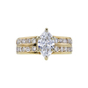 1.01 ct. Marquise Cut Solitaire Ring, D, SI1 #2