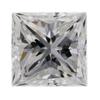 0.90 ct. Princess Cut 3 Stone Ring #2