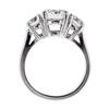 1.61 ct. Round Cut Bridal Set Ring #2